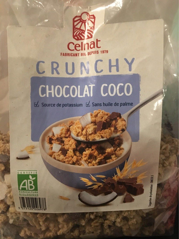 Crunchy chocolat coco - Produit - fr