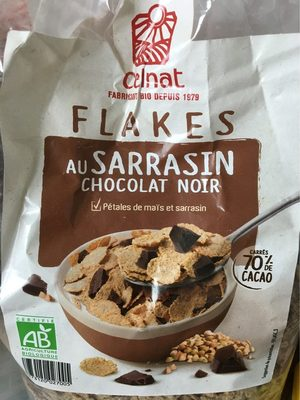 Flakes sarrasin chocolat noir - Produit