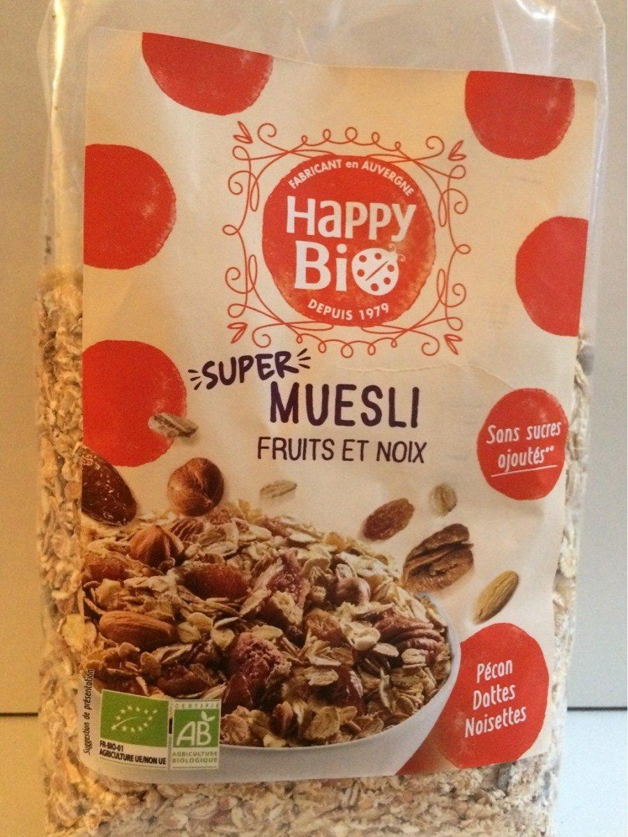 Super muesli fruits et noix - Produit