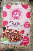 Super Muesli fruits rouges et chia - Produit - fr