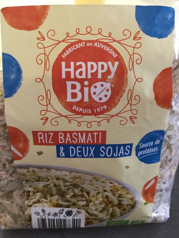 Riz basmati & deux sojas - Product