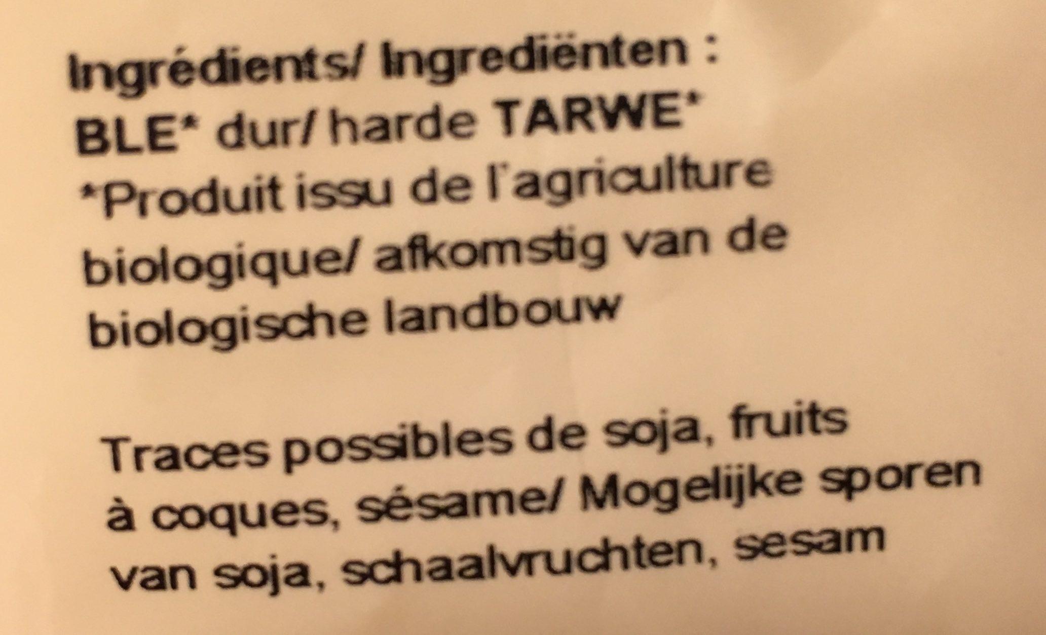 Boulgour si moelleux - Ingrédients - fr