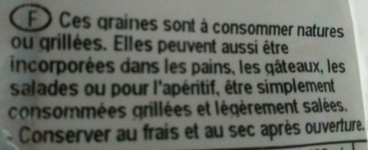 Graines de courges - Ingrédients - fr