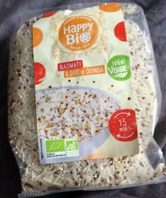 Basmati & duo de quinoa - Product - fr