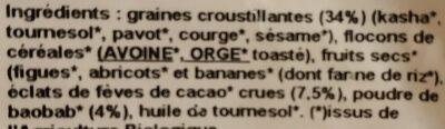 Muesli Extra Calcium - Ingrédients - fr
