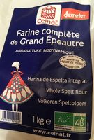 Farine complete de grand epeautre - Produit