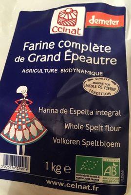 Farine complete de grand epeautre - Product