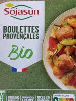 Boulettes provençales bio - Produit - fr