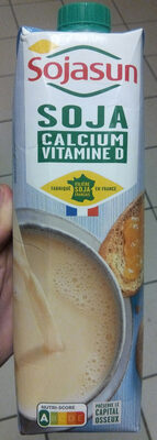 Boisson de soja Calcium + Vitamine D - Produit
