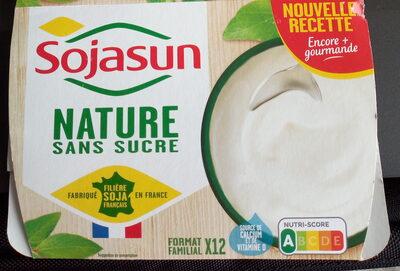 Sojasun nature sans sucre - Product - fr