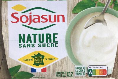 Sojasun nature sans sucre - Produit