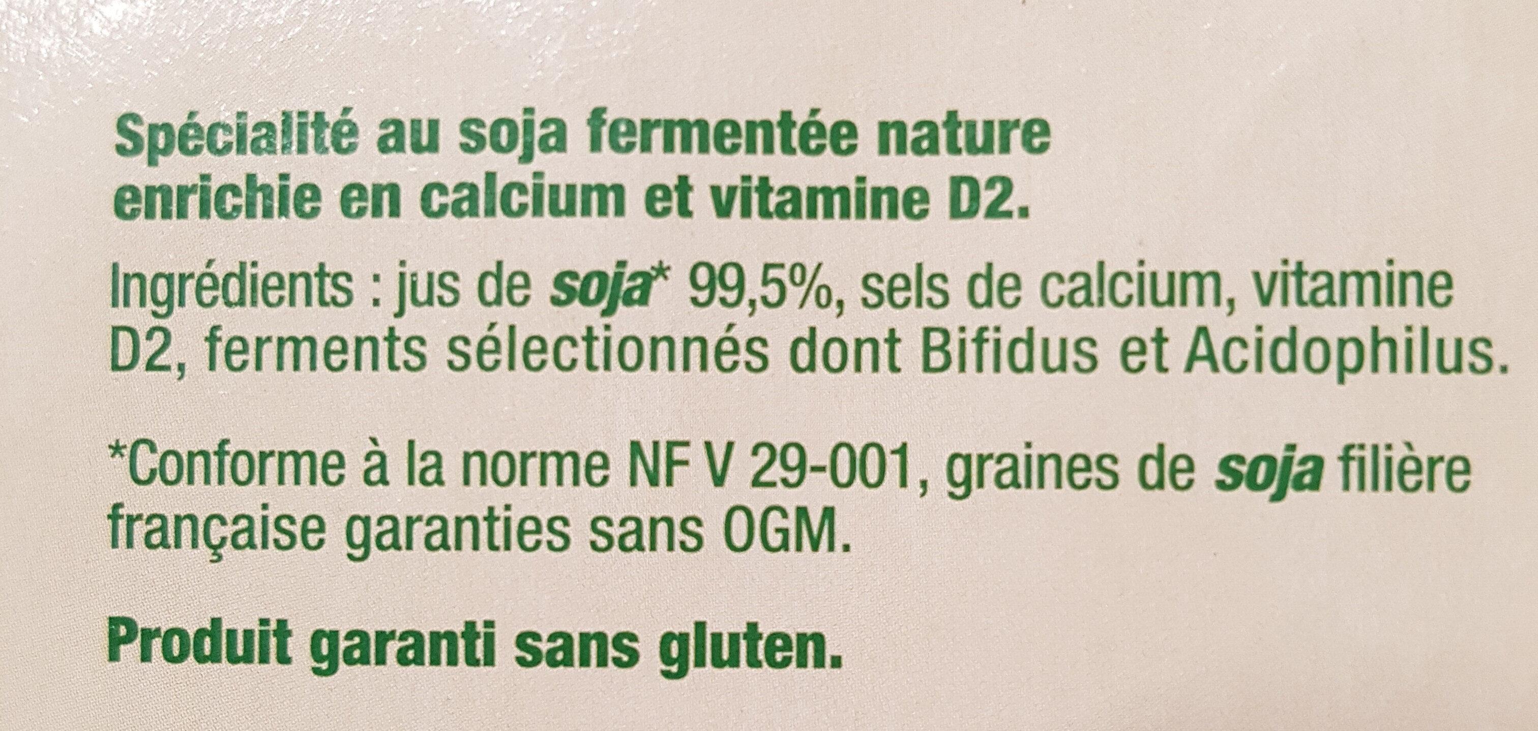 Nature - Ingredients - fr