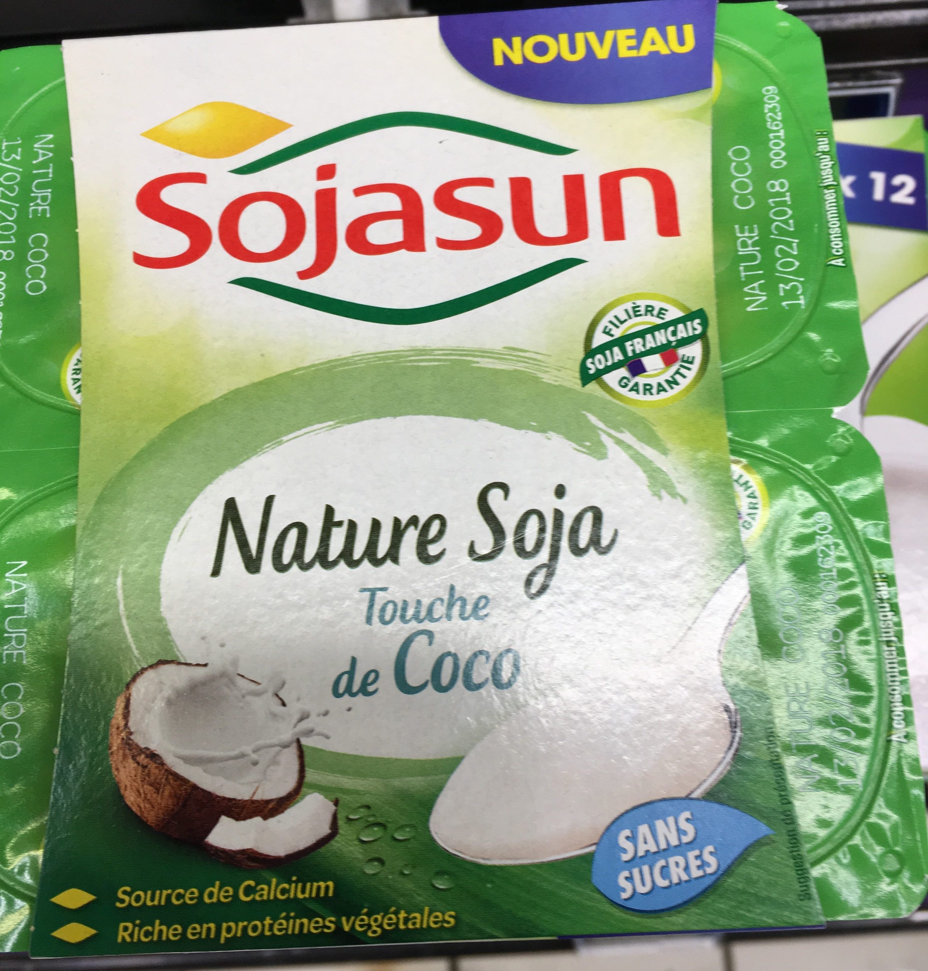 Sojasun nature coco - Product - fr