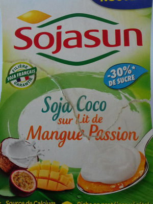 Soja coco sur lit de mangue passion - Product