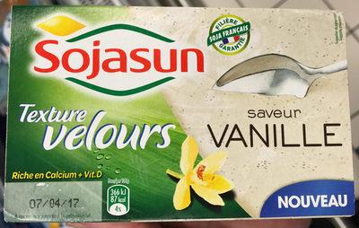 Texture Velours Saveur Vanille - Produit
