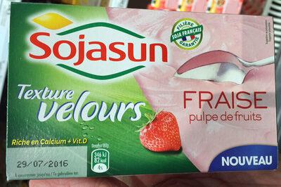Dessert pulpe de fruits fraise - Texture Velours - Produit - fr