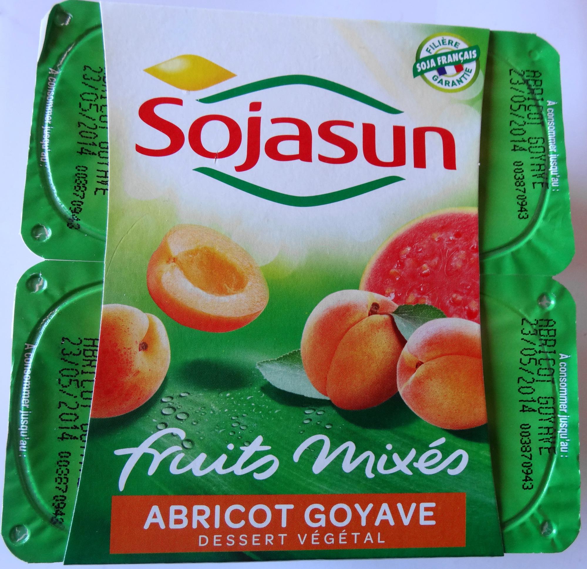 Fruits mixés (Abricot Goyave) - Product - fr