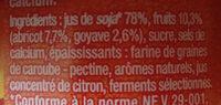 Soja sun - Ingrédients - fr