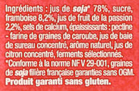Fruits mixés (Framboise Passion) - Ingredients - fr