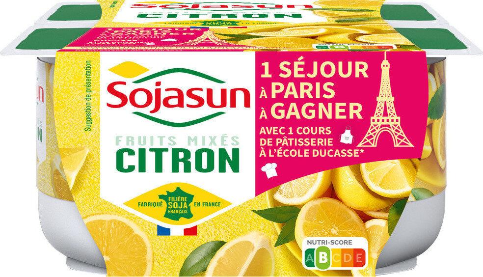 Sojasun citron - Product - fr