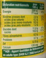 Sojasun citron - Informations nutritionnelles - fr