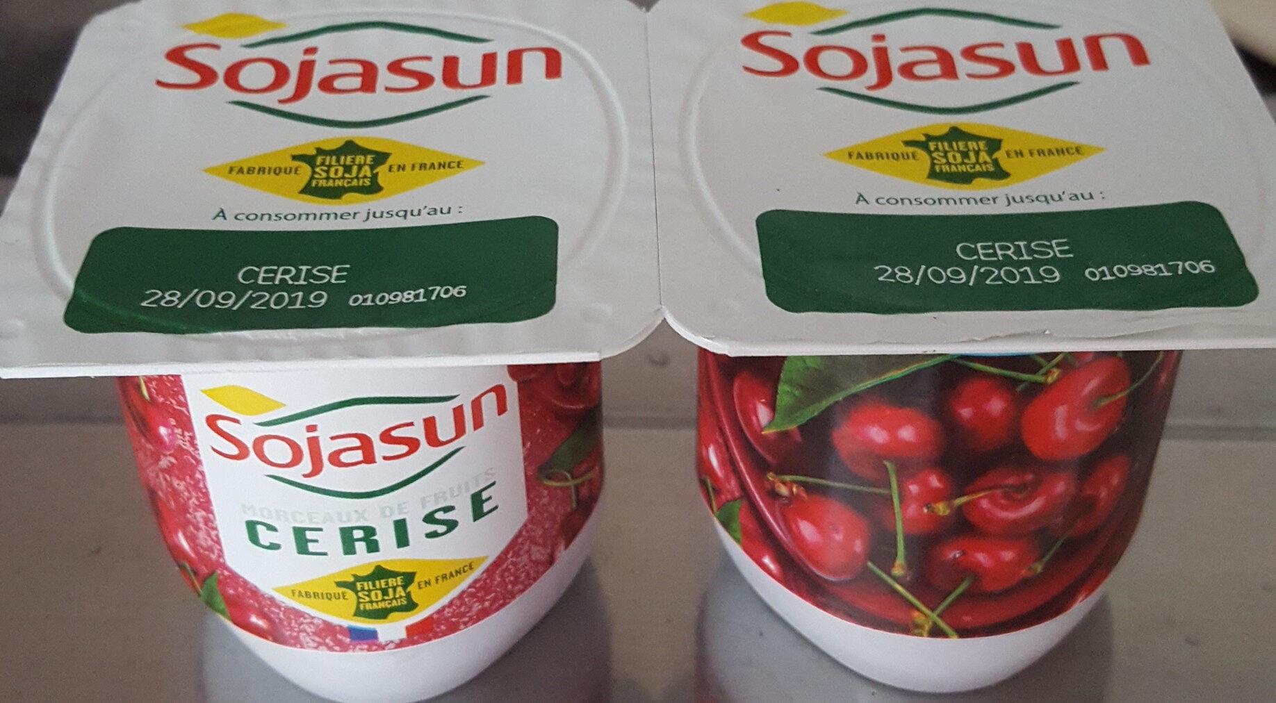 Sojasun Cerise (4 Pots) - Product
