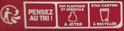 Sojasun Cerise - Istruzioni per il riciclaggio e/o informazioni sull'imballaggio - fr