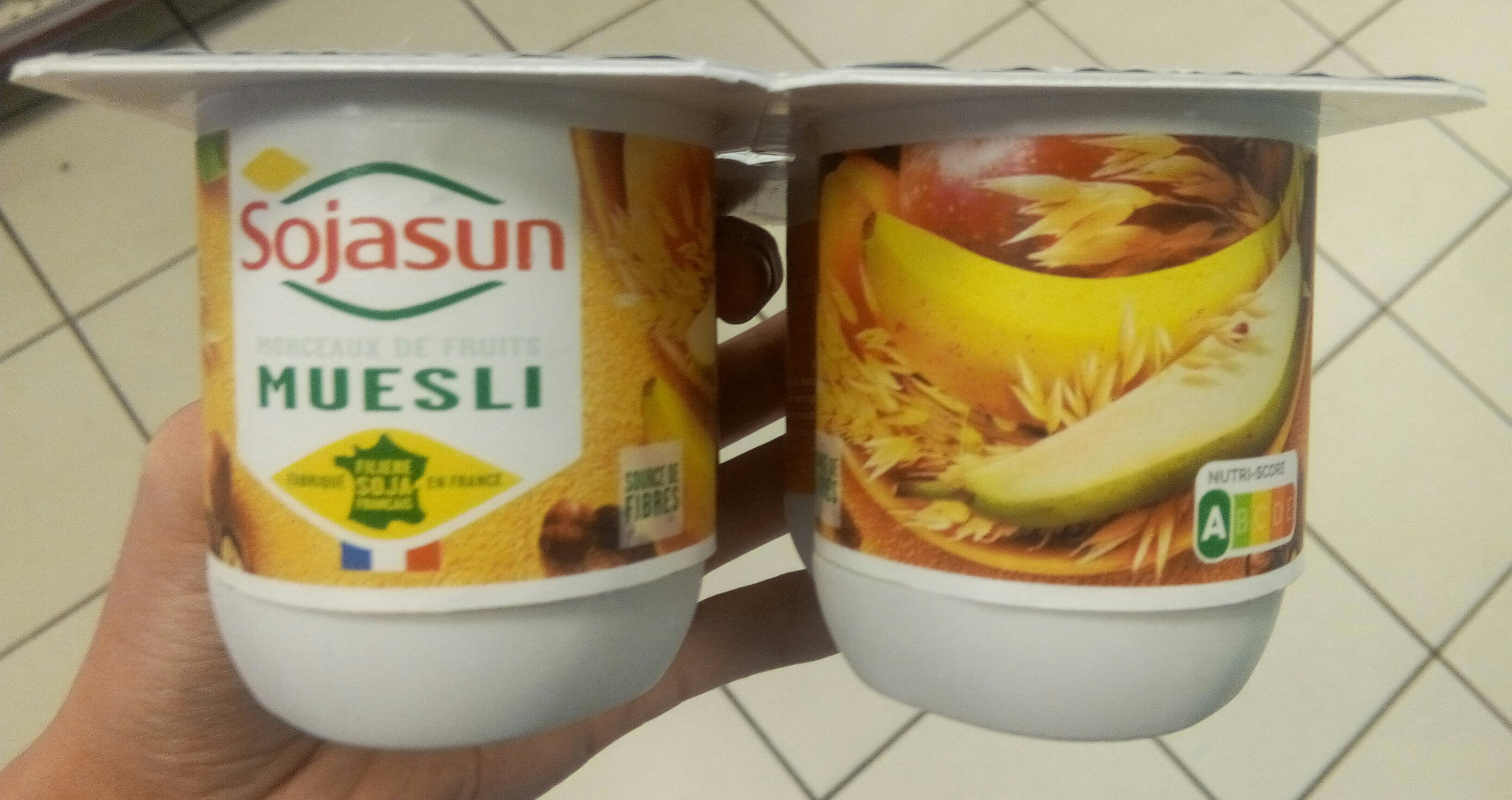 Dessert végétal, Muesli & Fruits - Product