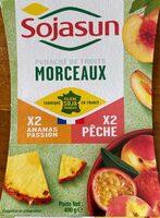 Panaché de fruits - Ananas Passion/Pêche - Product - fr