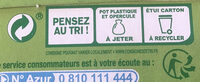 Panaché de fruits - Ananas Passion/Pêche - Recycling instructions and/or packaging information - fr