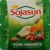 Dessert végétal aux morceaux de fruits, Poire Amandes (4 Pots) - Produit
