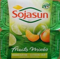 Dessert végétal, Fruits mixés (Mandarine-Citron Vert) - Produit