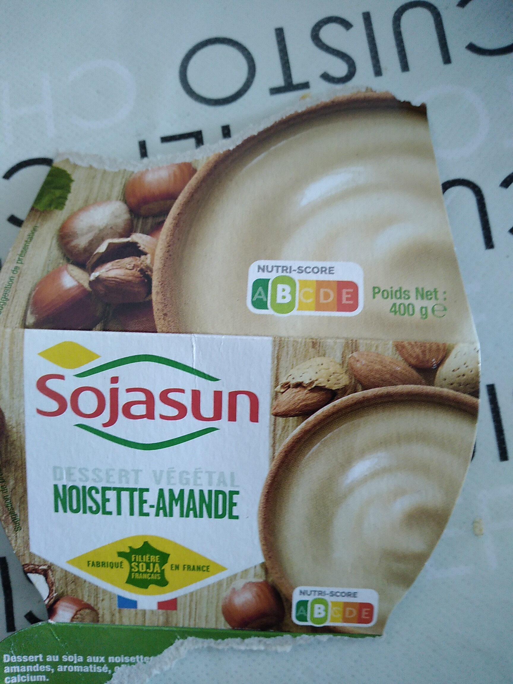 Dessert végétal Noisette-Amande - Produit - fr