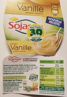 Yaourt au soja Vanille - Informations nutritionnelles - fr