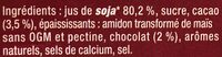 Chocolat intense - Ingredients - fr