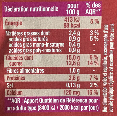 Chocolat intense - Nutrition facts - fr