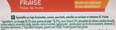 Kids - Fraise - Pulpe de Fruits - Ingrédients - fr