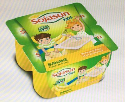 Kids - Banane- Pulpe de fruits - Produit