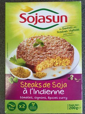 Steaks de soja à l'indienne - Product
