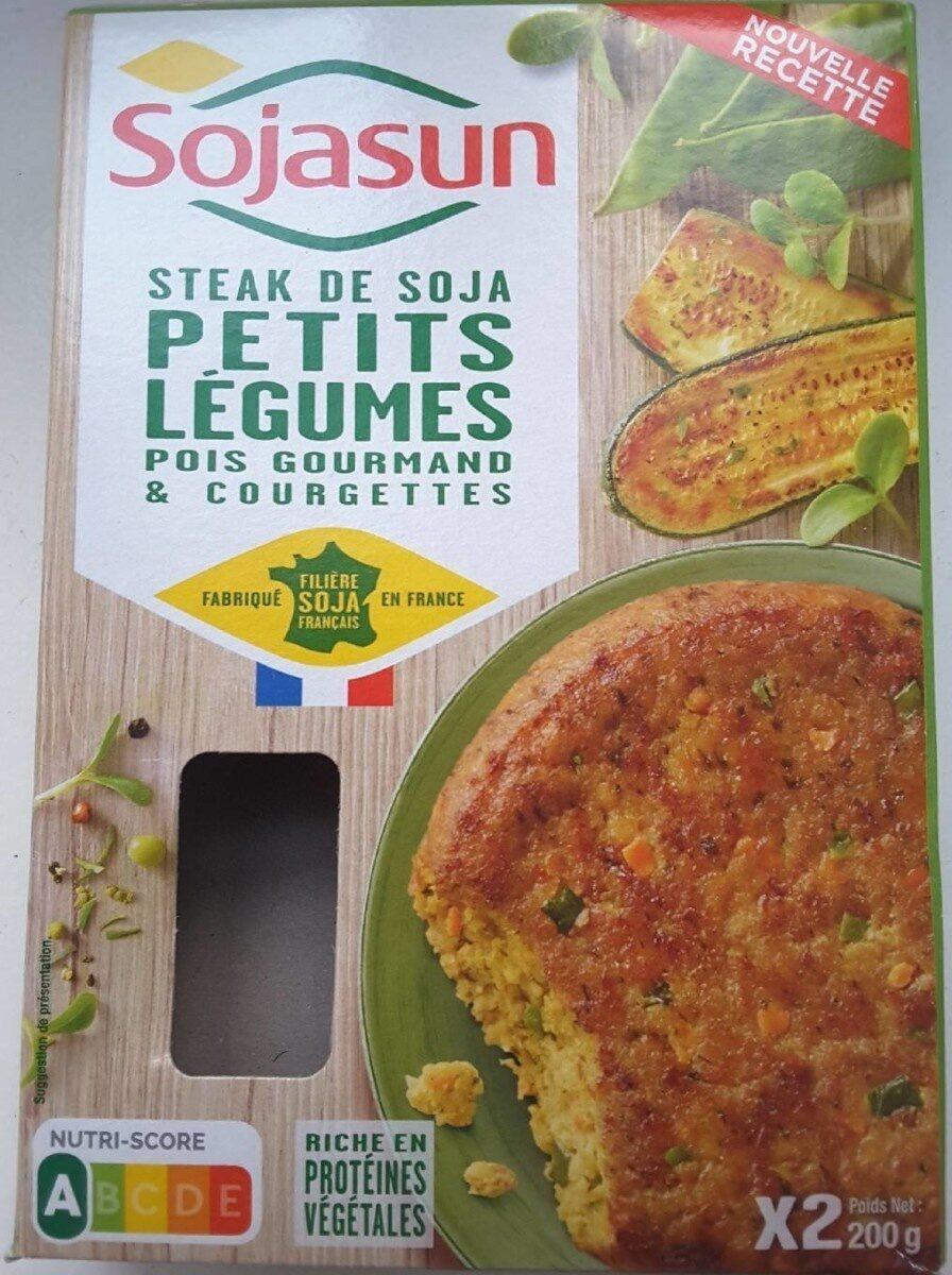Steak de Soja Petits Légumes - Produit - fr