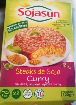 Steaks de Soja Curry - Product