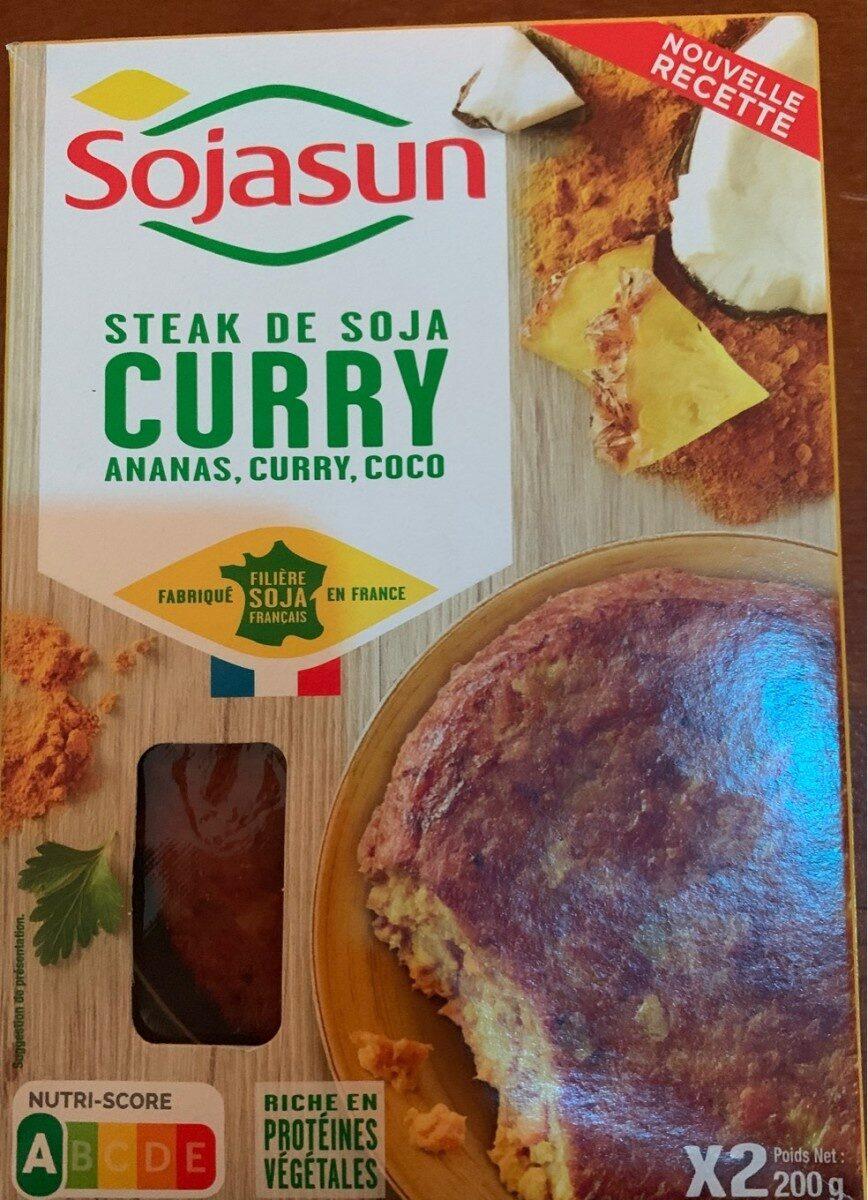 Steak de Soja Curry - Produit - fr