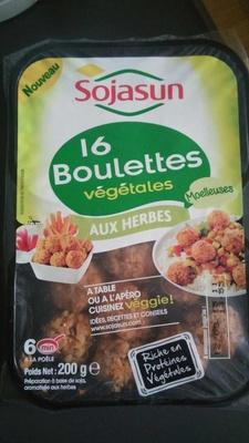 Boulettes végétales aux herbes - Product