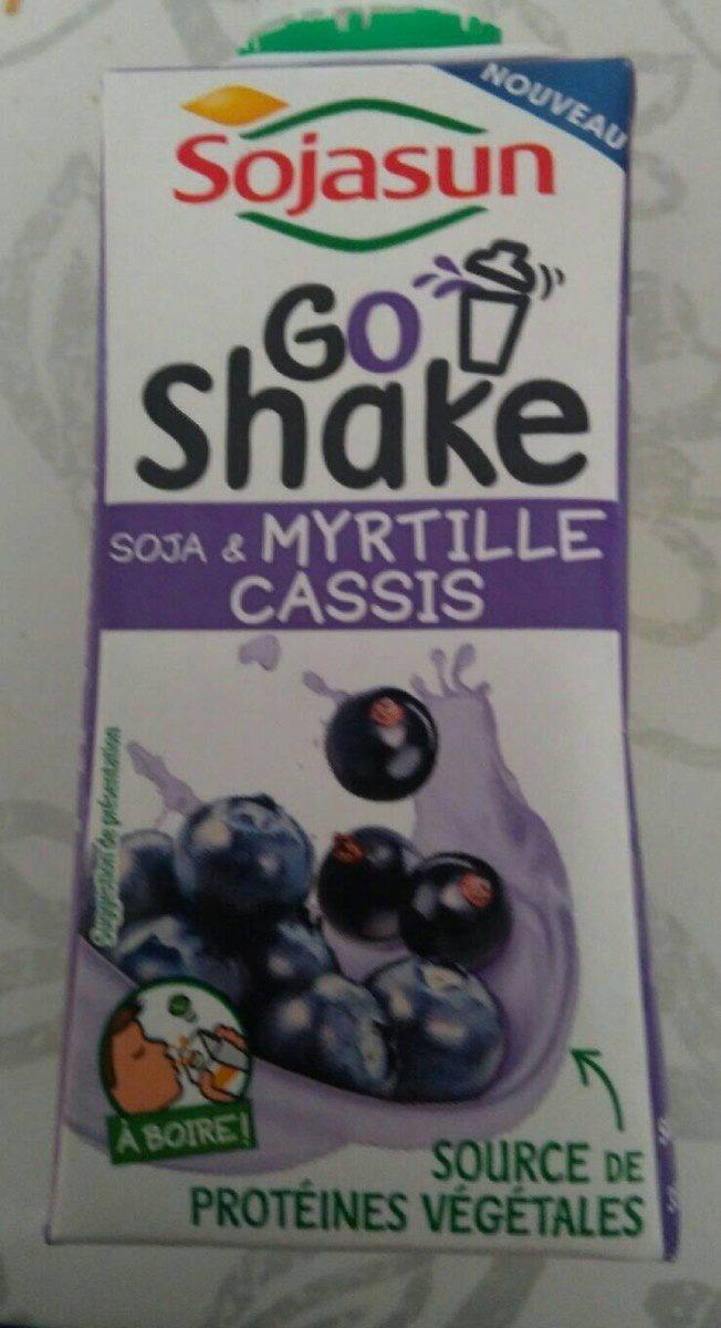Go shake myrtille et cassis - Produit