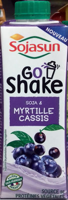 Go Shake Soja & Myrtille Cassis - Producto