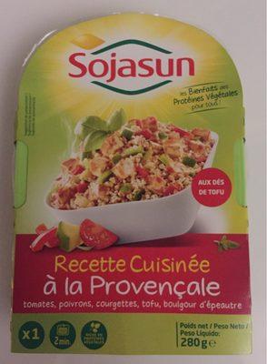 Recette cuisinée à la provençale - Produit
