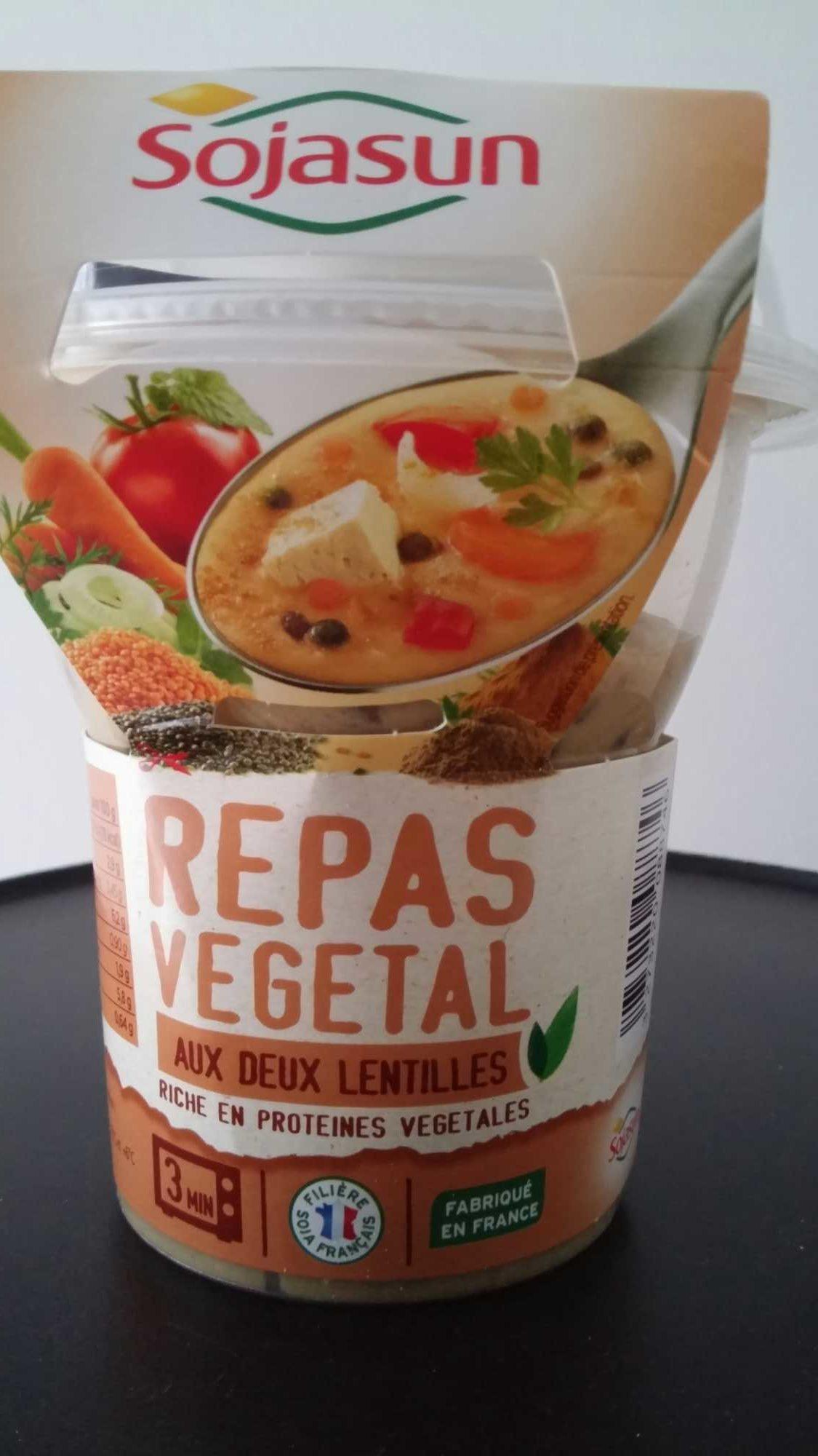Repas Végétal aux Deux Lentilles - Produit - fr