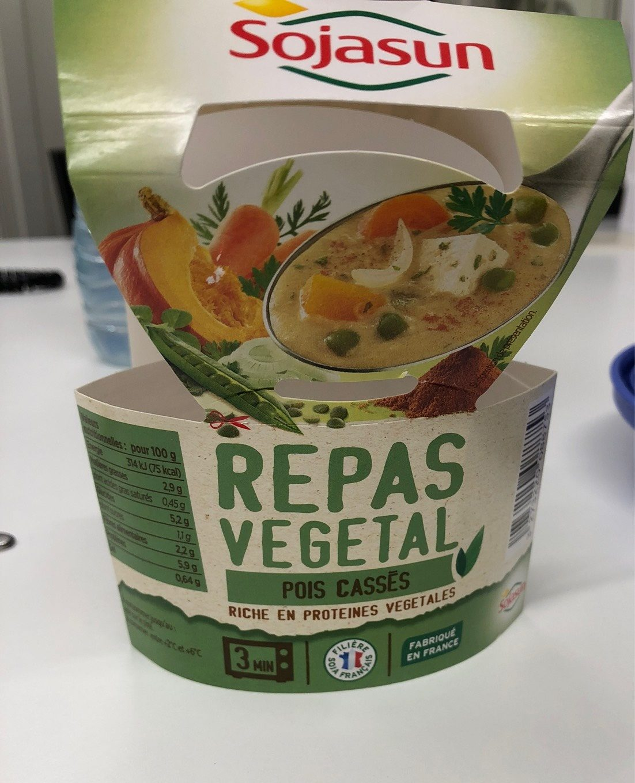 Repas Végétal Pois Cassés - Produit - fr