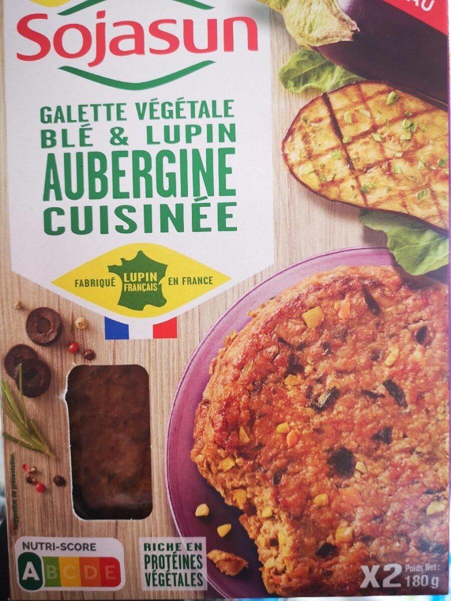 Galette végétale blé et lupin aubergine cuisinée - Prodotto - fr