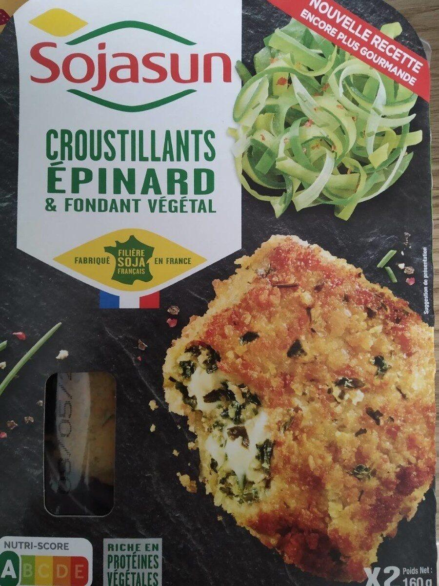 croustillant épinards et fondant végétal - Produit - fr